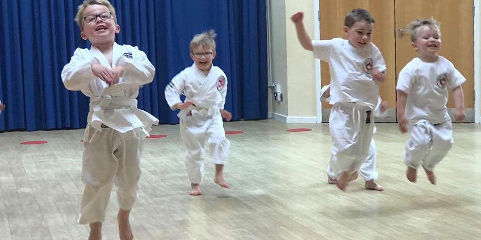 Children's Karate Classes for infants and tots