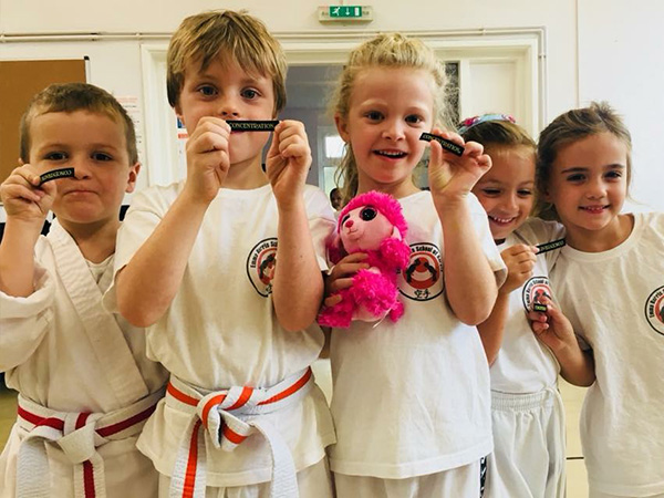 Karate classes for infants in Cardiff