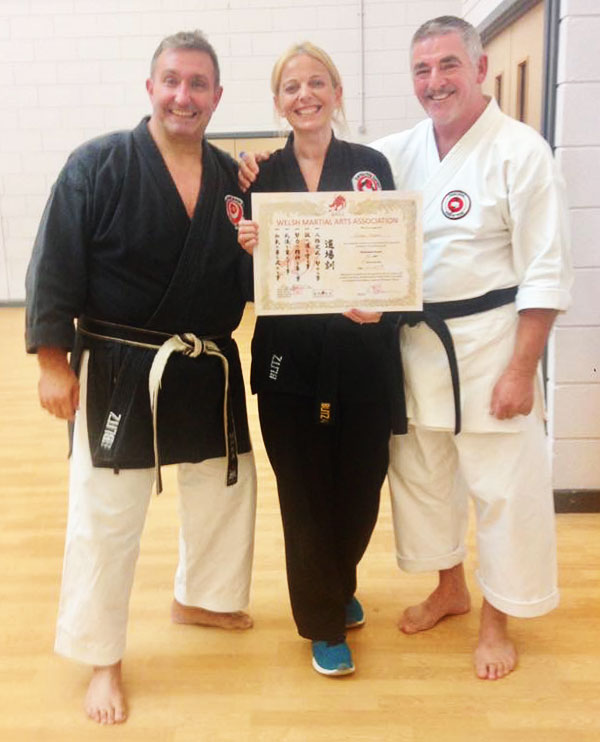 Emma Harris Black Belt - Junior class instructor